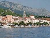 Makarska Croatia from port