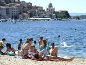 Sibenik ,17.06.2012 - otovorenje gradske plaze Banj