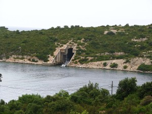 island of vis croatia submarine
