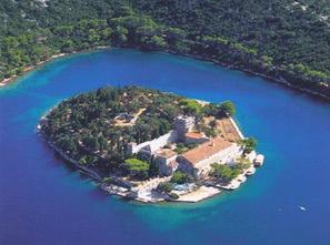 mljet island national park lakes monastery